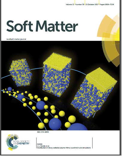 Soft Matter Cover Article
